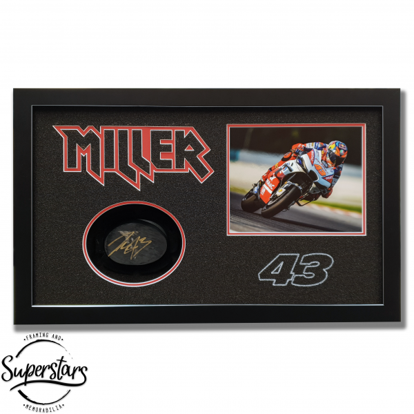 Jack Miller Signed Knee Slider