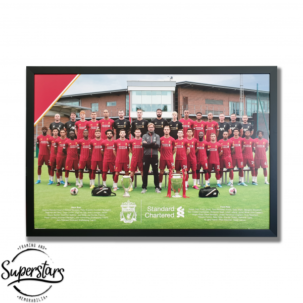 Poster of Premier League Champion team Liverpool FC