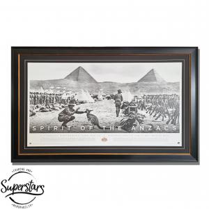 ANZAC memorabilia custom framed in Perth
